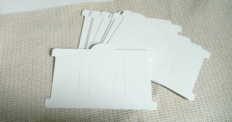 Headband Card Template ] - Headband Card Bow Card Display For Headband Card Template