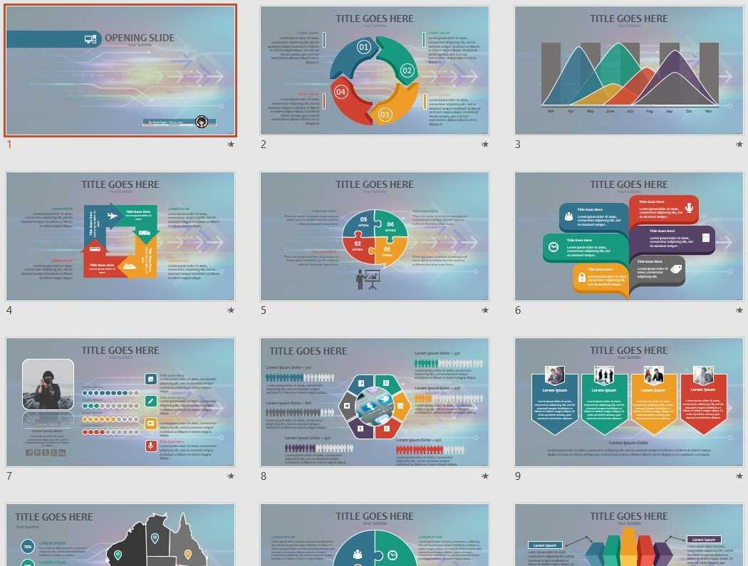 High Tech Powerpoint Template #71778 Regarding High Tech Powerpoint Template