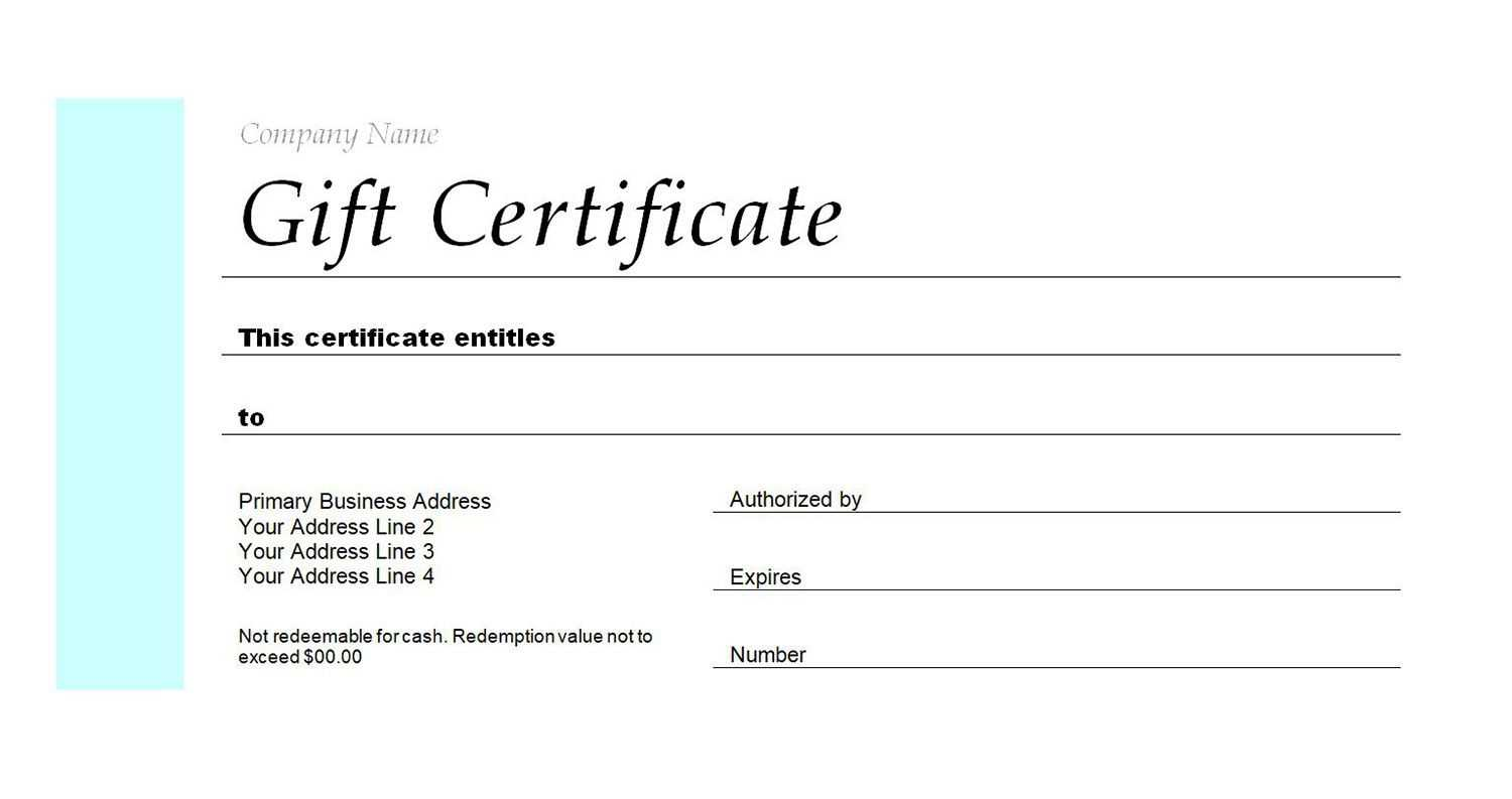 Hotel T Certificate – Bloginsurn Intended For This Certificate Entitles The Bearer To Template
