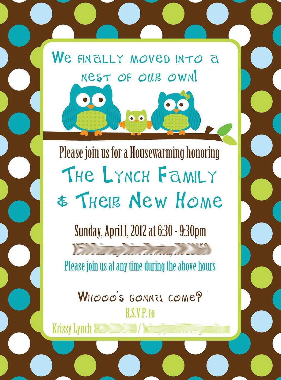 Housewarming Invitation Message In Free Housewarming Invitation Card Template