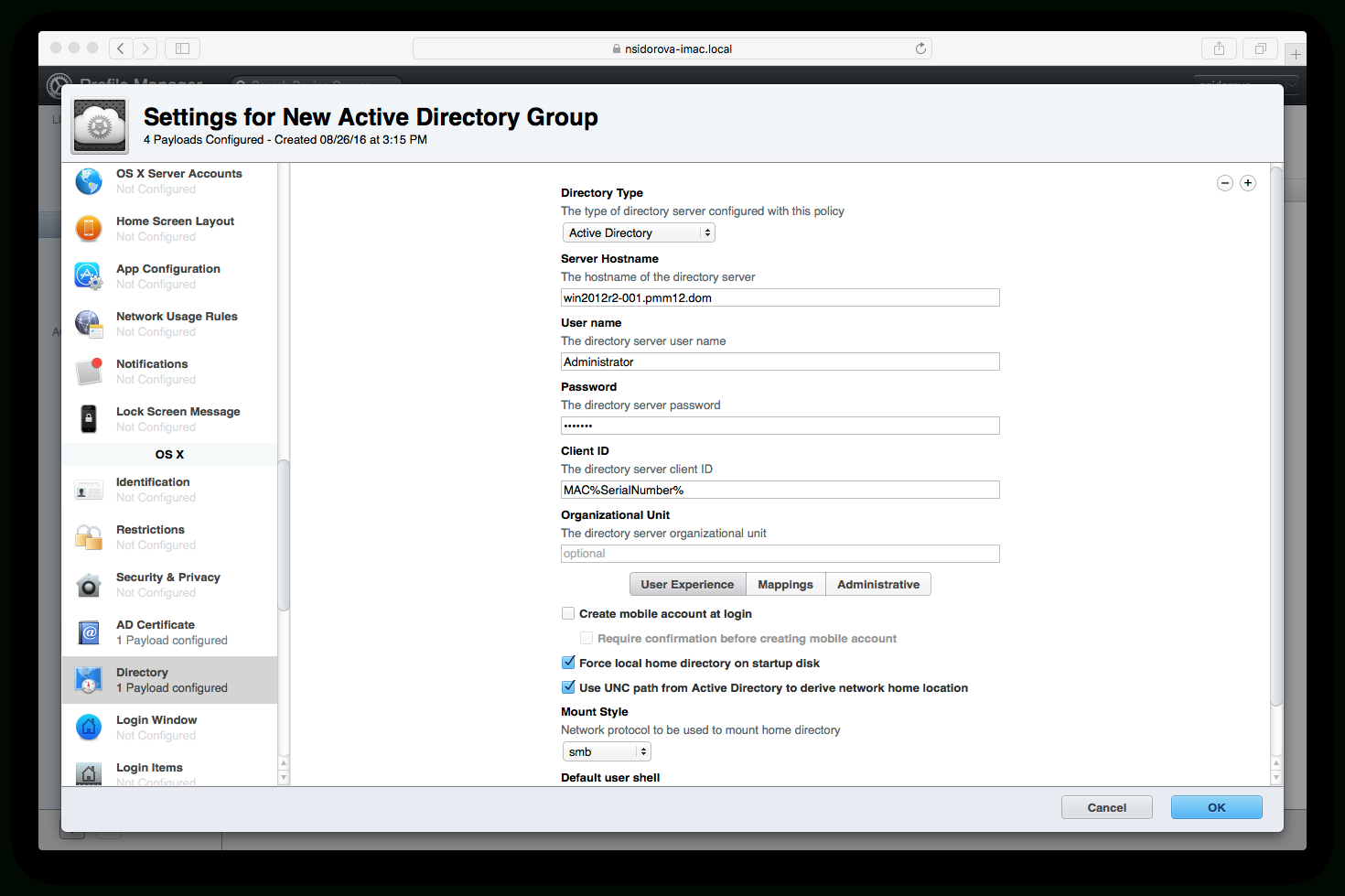 How To Configure Mac Computers To Request Digital Within Active Directory Certificate Templates