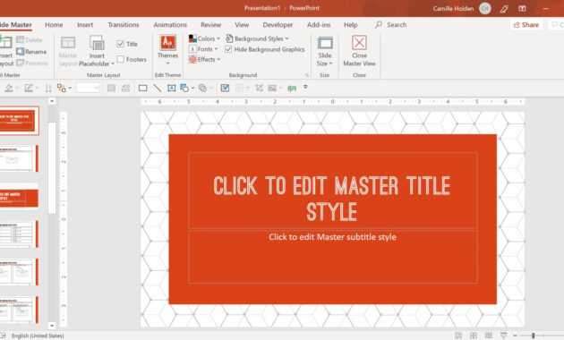 How To Create A Powerpoint Template (Step-By-Step) inside What Is Template In Powerpoint