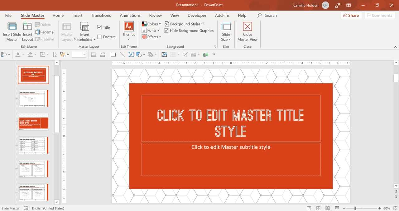 How To Create A Powerpoint Template (Step By Step) Pertaining To How To Design A Powerpoint Template