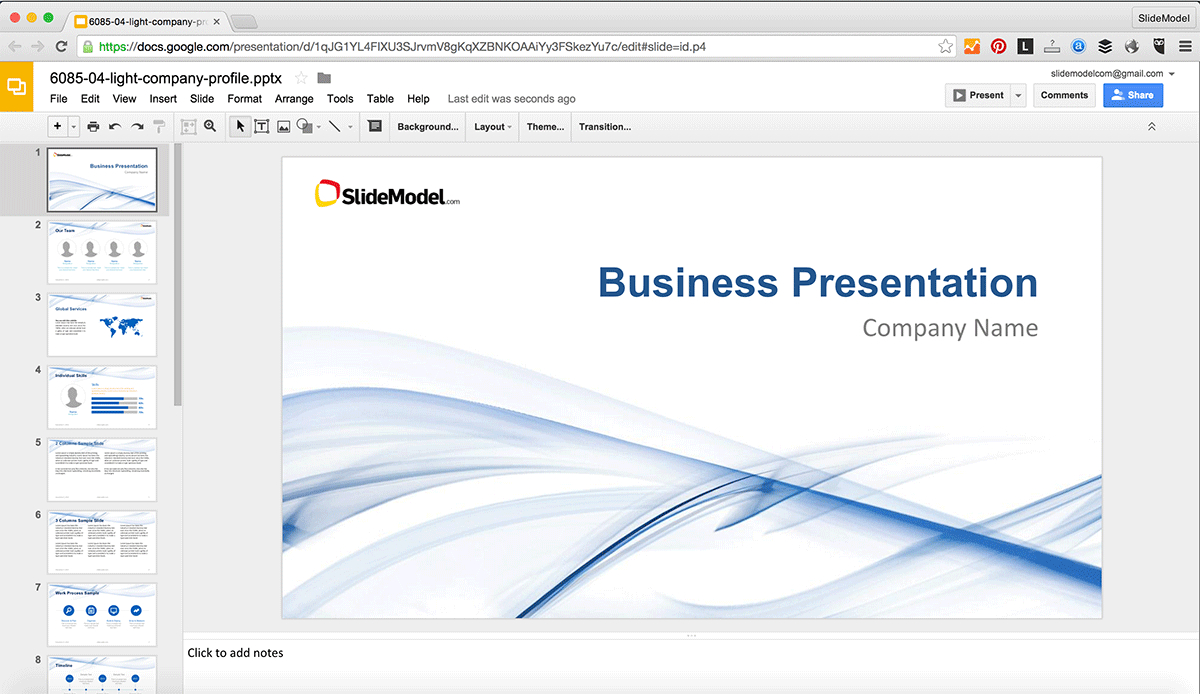 How To Edit Powerpoint Templates In Google Slides - Slidemodel In How To Edit Powerpoint Template