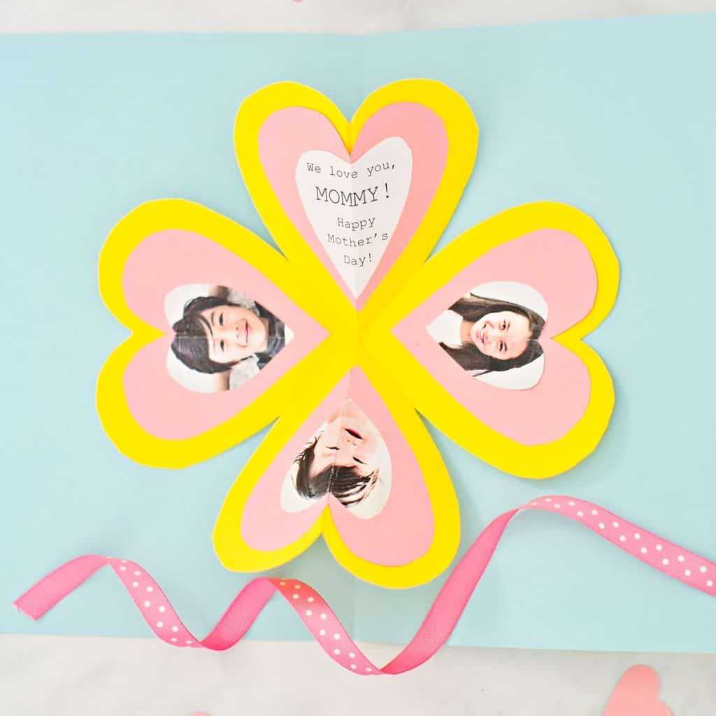 How To Make A Heart Pop Up Card – Hello Wonderful Pertaining To I Love You Pop Up Card Template