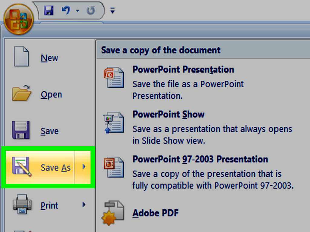 How To Make A Powerpoint Template - Wikihow Regarding How To Save Powerpoint Template