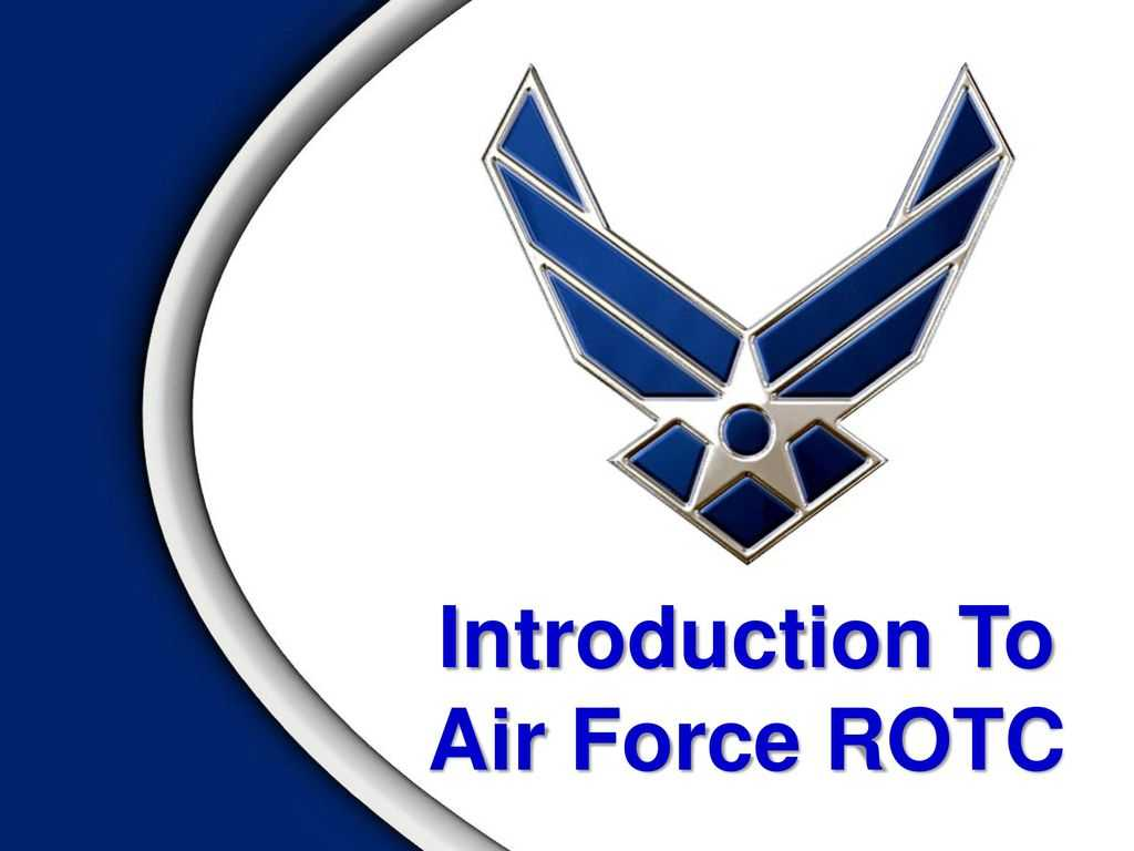 Introduction To Air Force Rotc - Ppt Download In Air Force Powerpoint Template