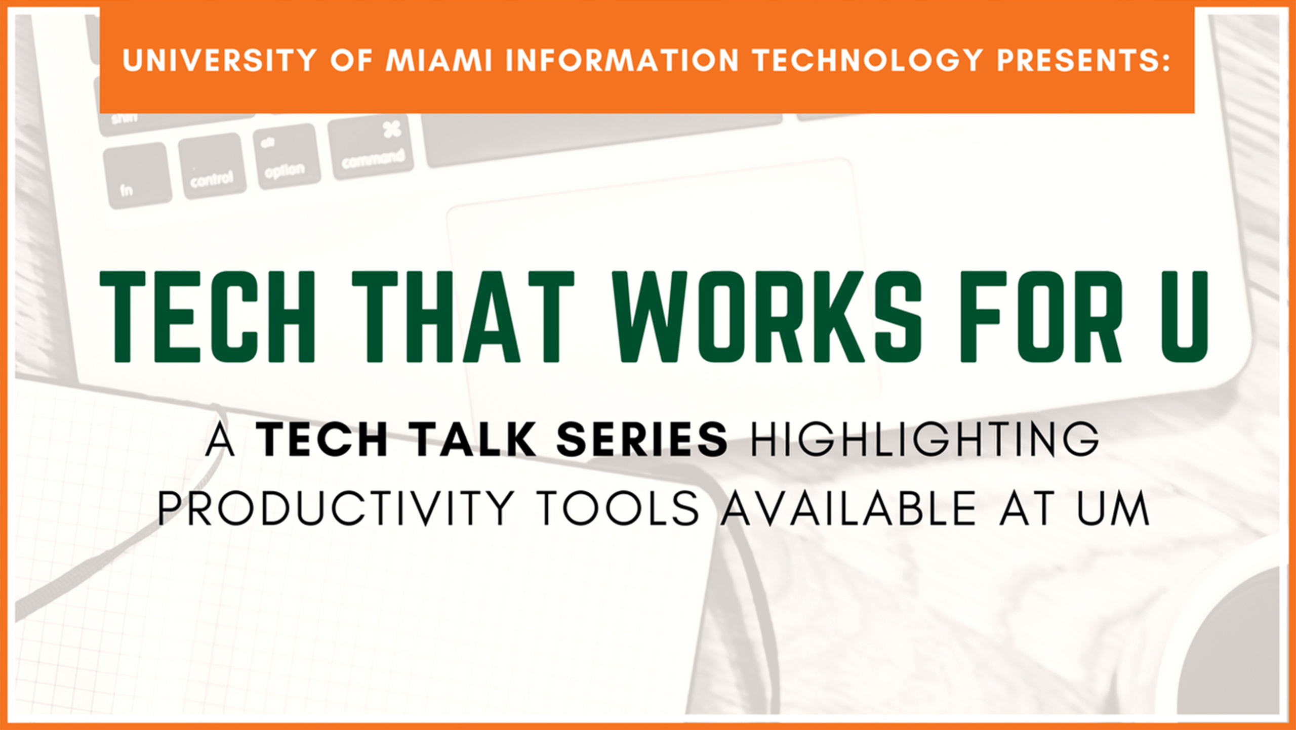 It News - Tech That Works For U | University Of Miami For University Of Miami Powerpoint Template