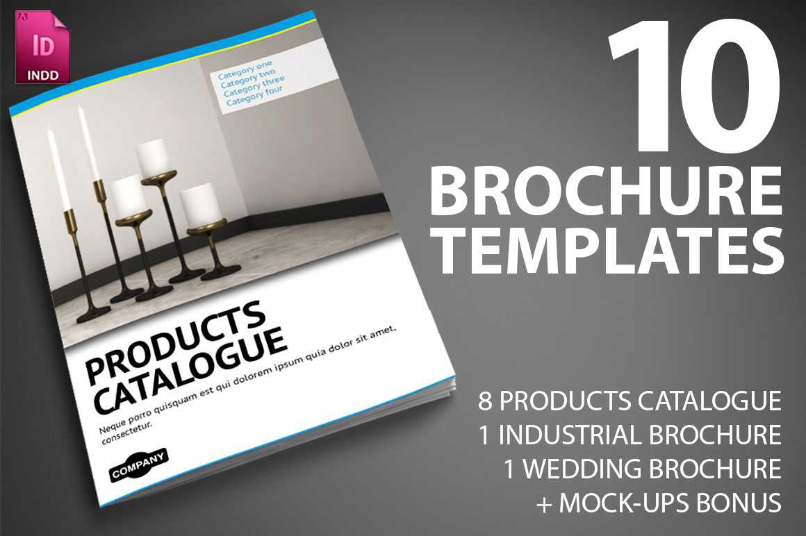 Last Day: 10 Professional Indesign Brochure Templates From Inside Product Brochure Template Free