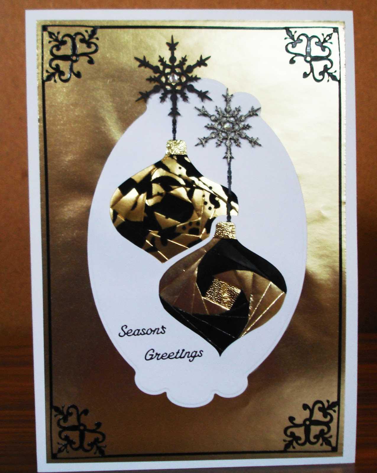 Lorraine Lives Here: Iris Folding Christmas Cards With Regard To Iris Folding Christmas Cards Templates