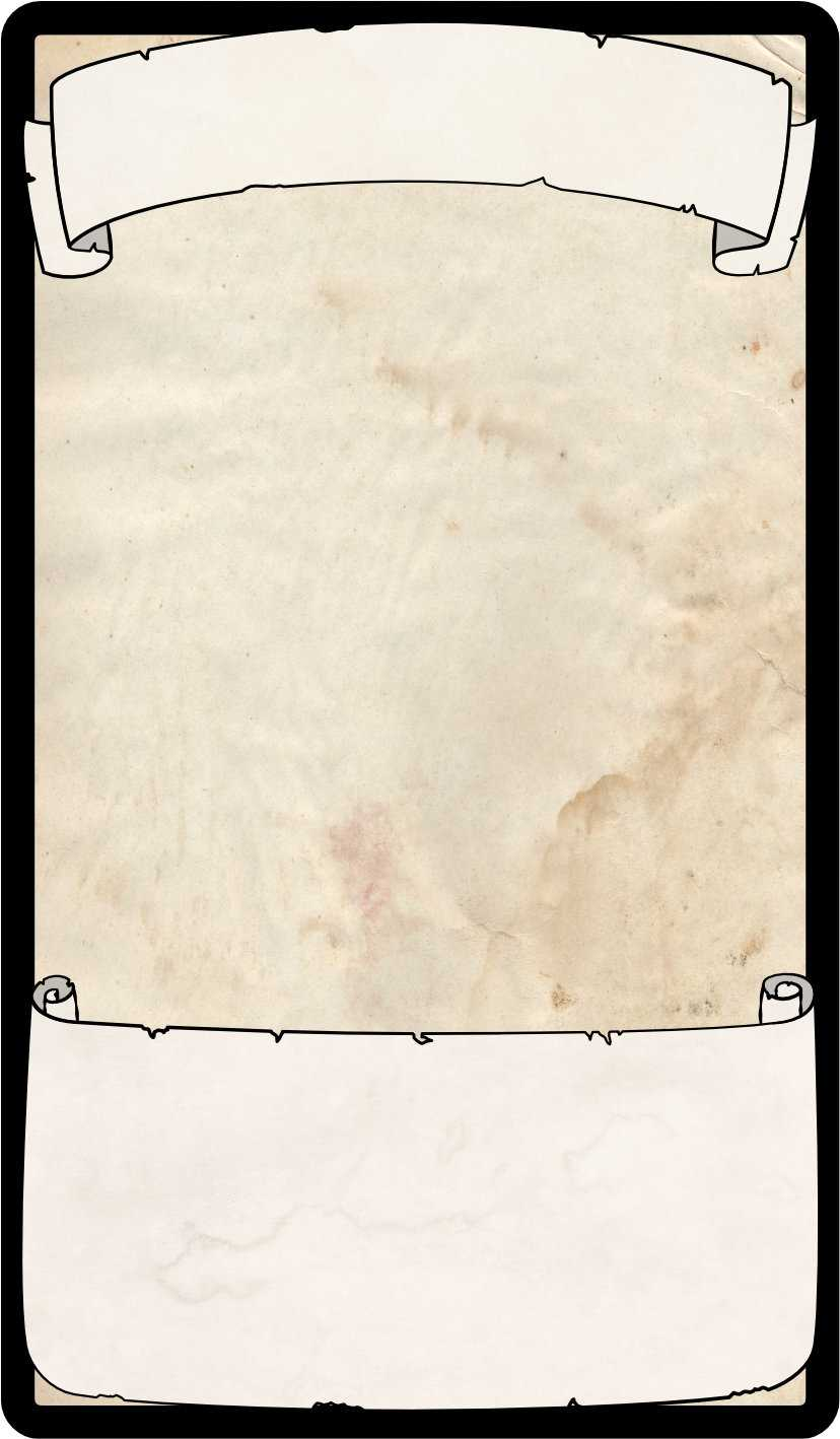 Magic Item Cards – Binary Adventures Within Blank Magic Card Template
