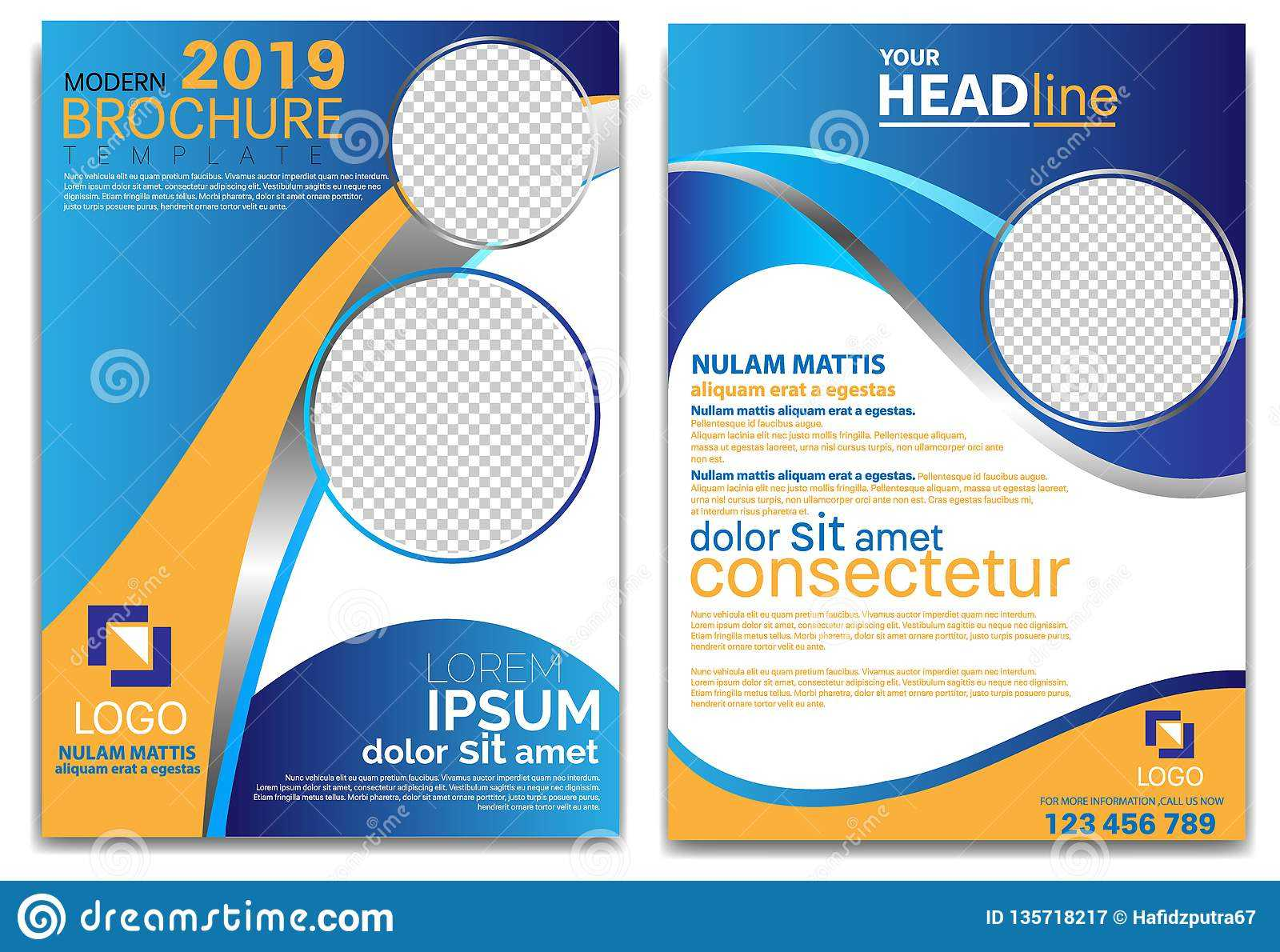 Modern Brochure Template 2019 And Professional Brochure Throughout School Brochure Design Templates