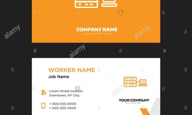 Networking Business Card Design Template, Visiting For Your in Networking Card Template