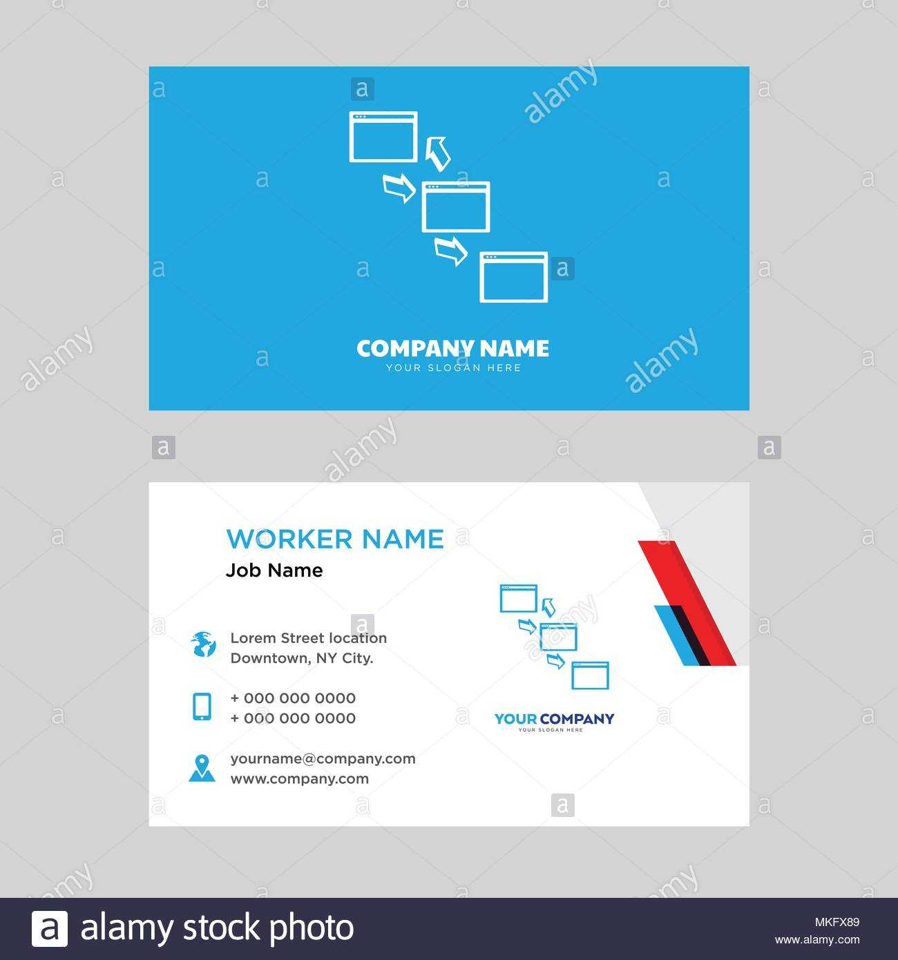 Networking Business Card Design Template, Visiting For Your Throughout Networking Card Template