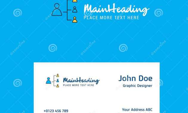 Networking Logo Design With Business Card Template. Elegant regarding Networking Card Template