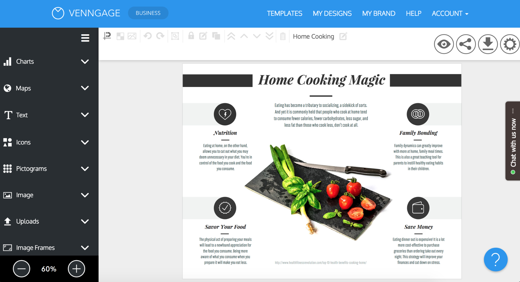 Online Brochure Maker: Design A Brochure For Free Regarding Free Online Tri Fold Brochure Template