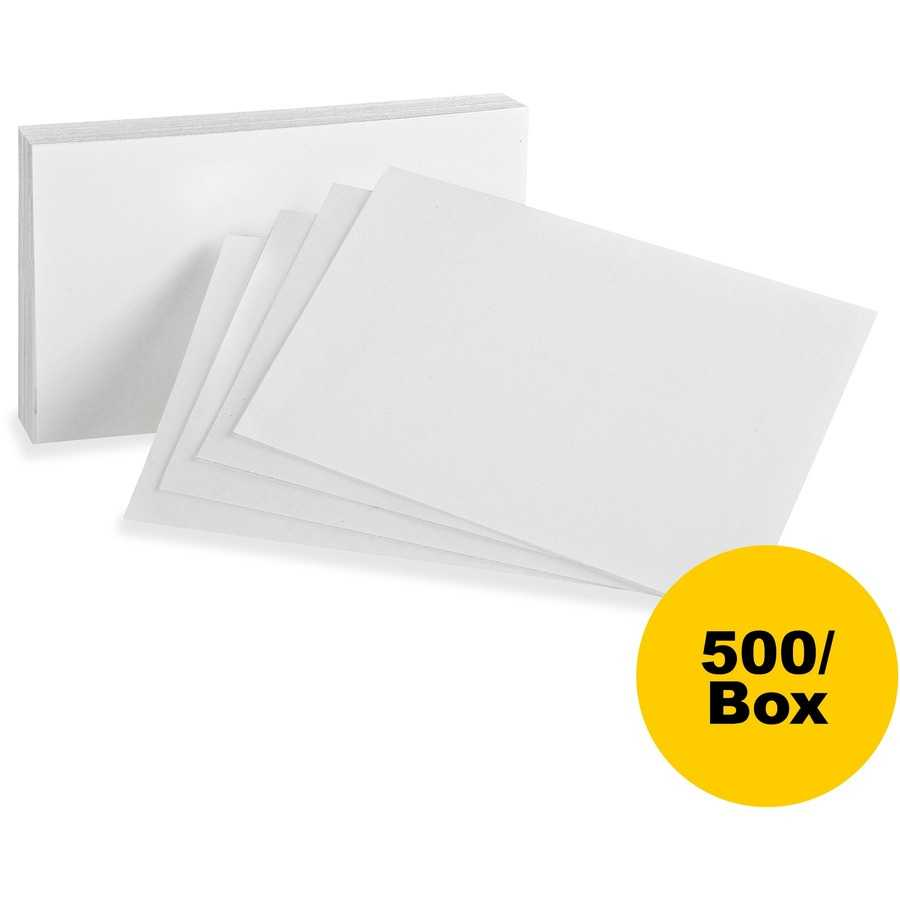 Oxford Printable Index Card With 5 By 8 Index Card Template