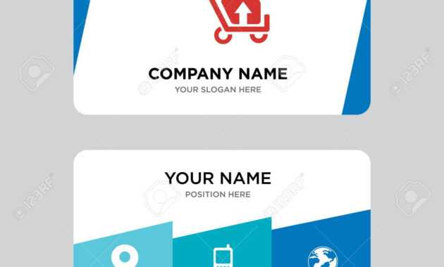 Package Transport For Delivery Business Card Design Template,.. pertaining to Transport Business Cards Templates Free