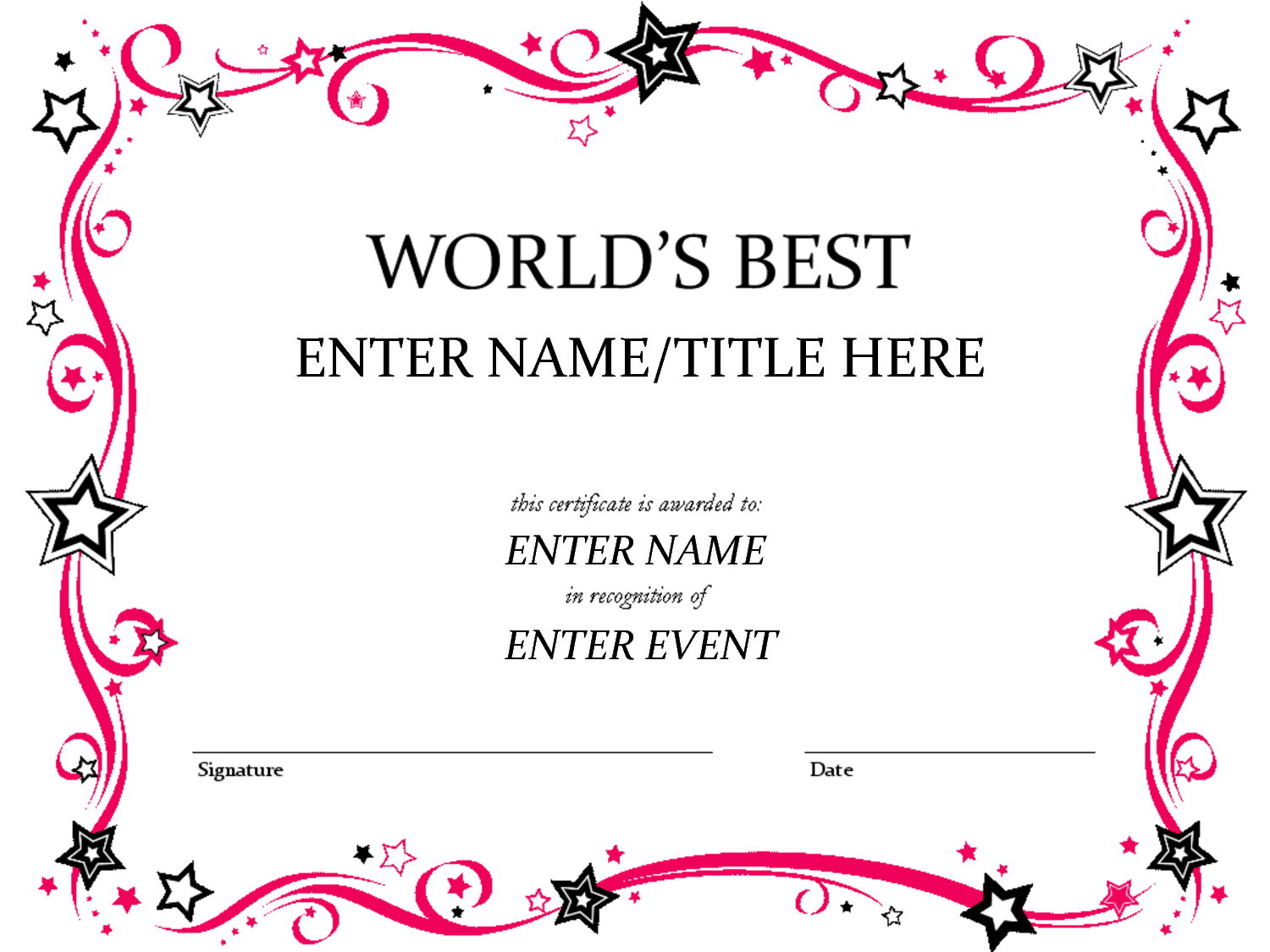 Pages Certificate Templates - Invitation Templates - Clip Intended For Pages Certificate Templates