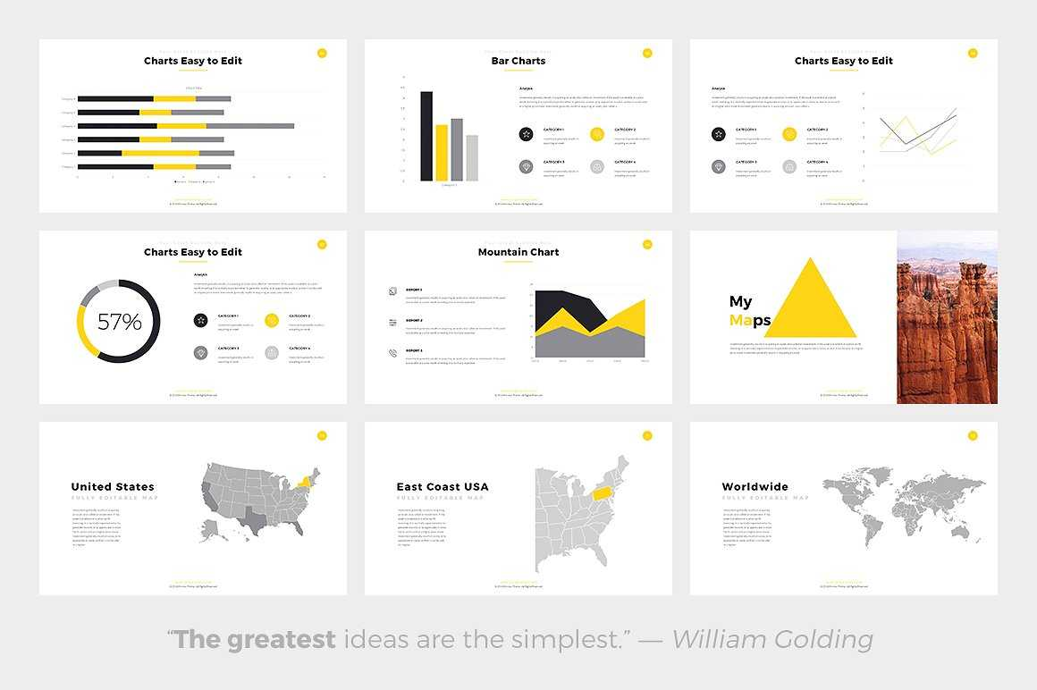 Phlox Minimal Powerpoint Template With Regard To Fancy Powerpoint Templates