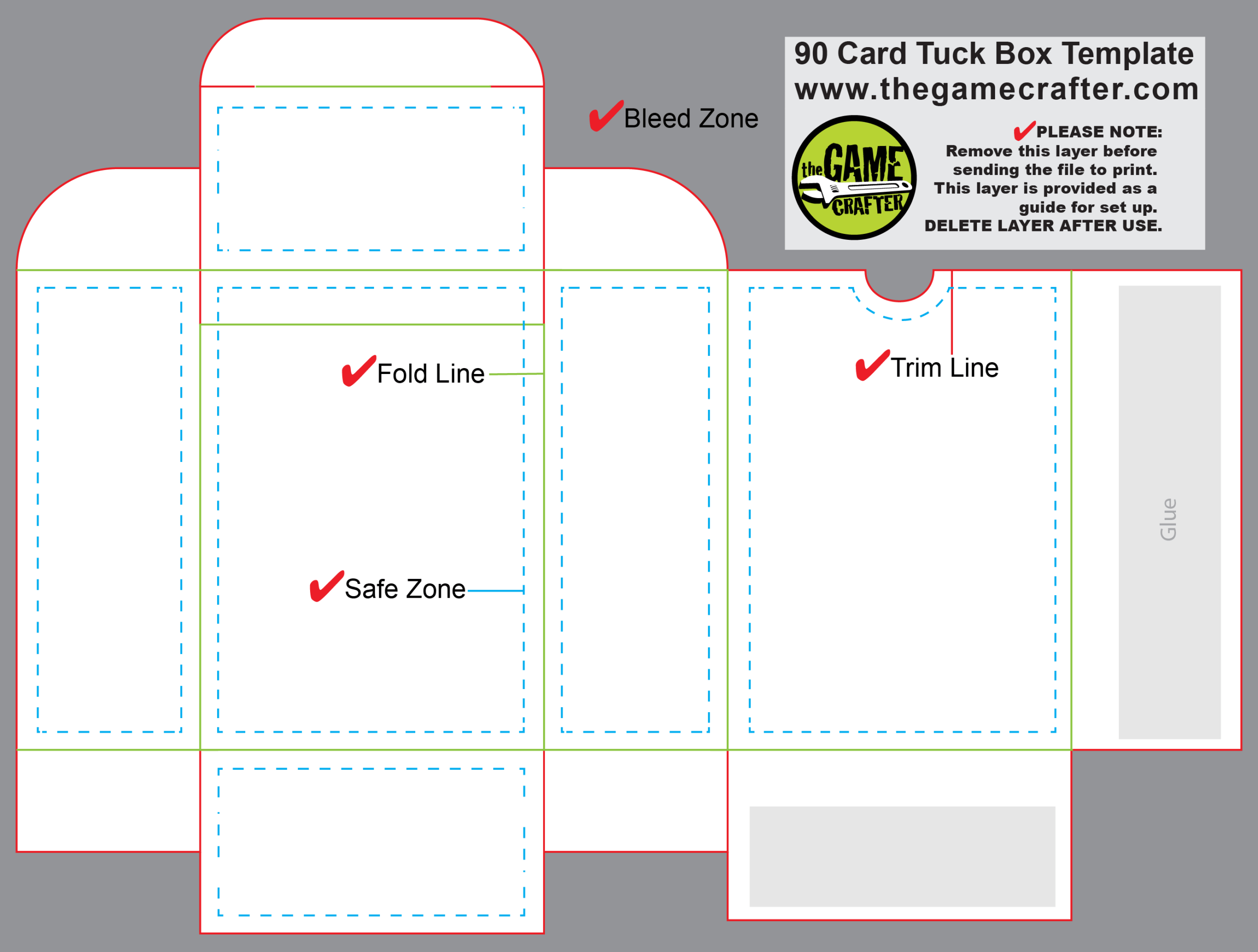 Poker Tuck Box (90 Cards) Pertaining To Custom Playing Card Template