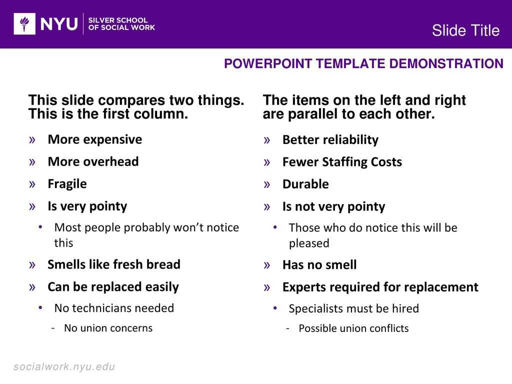 Powerpoint Template Demonstration - Ppt Download In Nyu Powerpoint Template