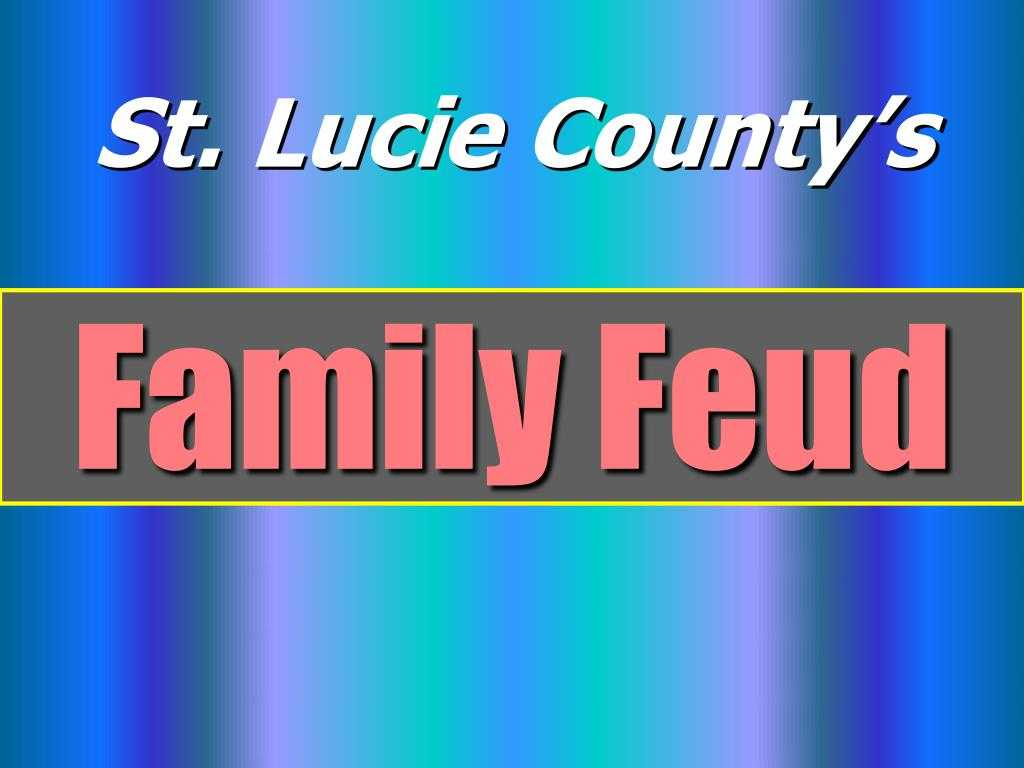 Ppt - Family Feud Powerpoint Presentation, Free Download Pertaining To Family Feud Powerpoint Template With Sound
