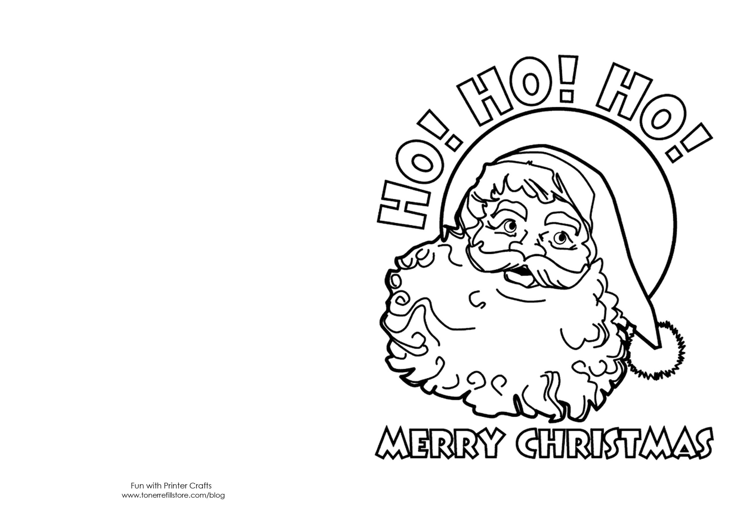 Printable Christmas Card Templates To Color – Wedding Inside Printable Holiday Card Templates