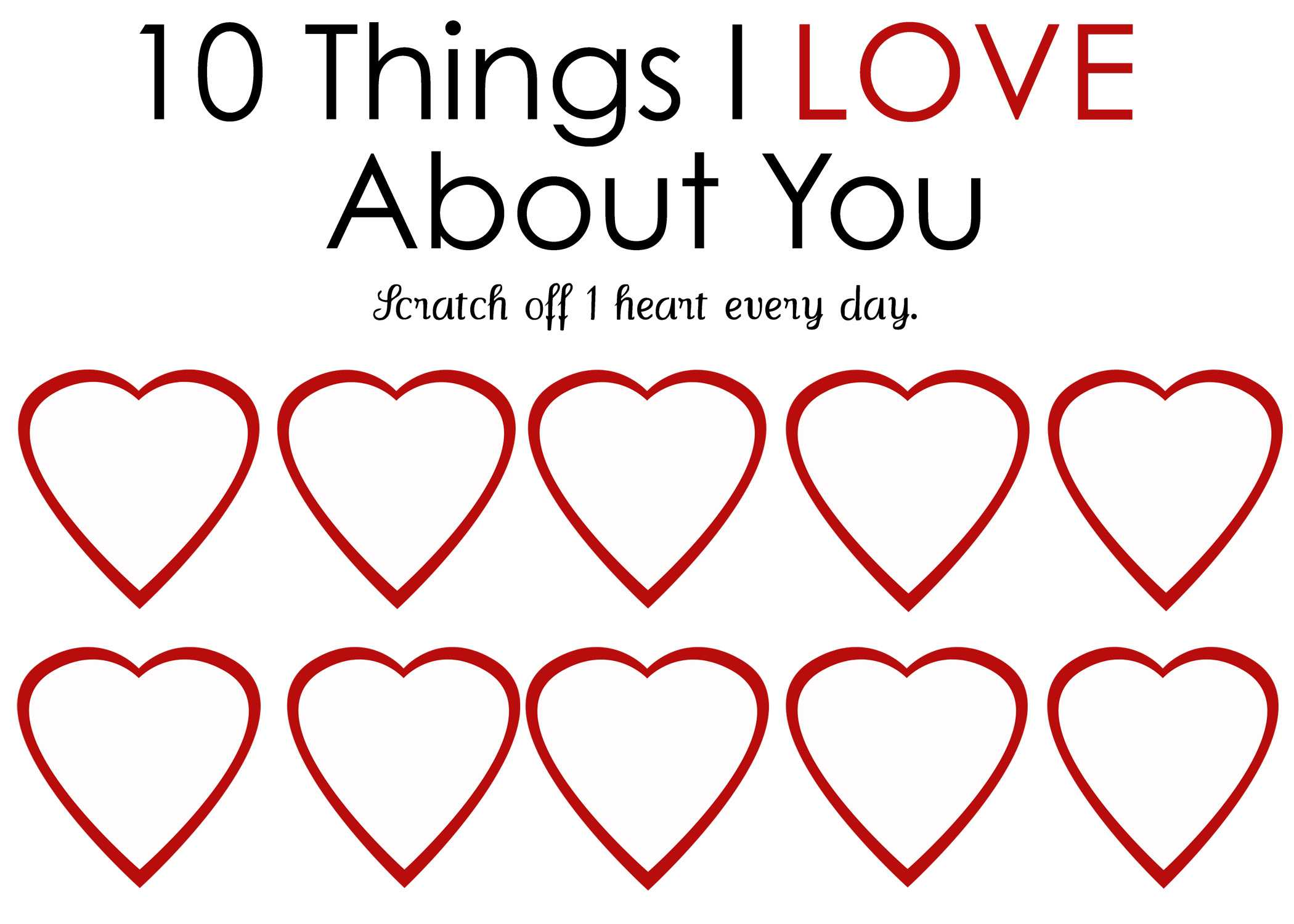 Printable Scratch Off Card {Easy Peasy Valentine} Within Scratch Off Card Templates