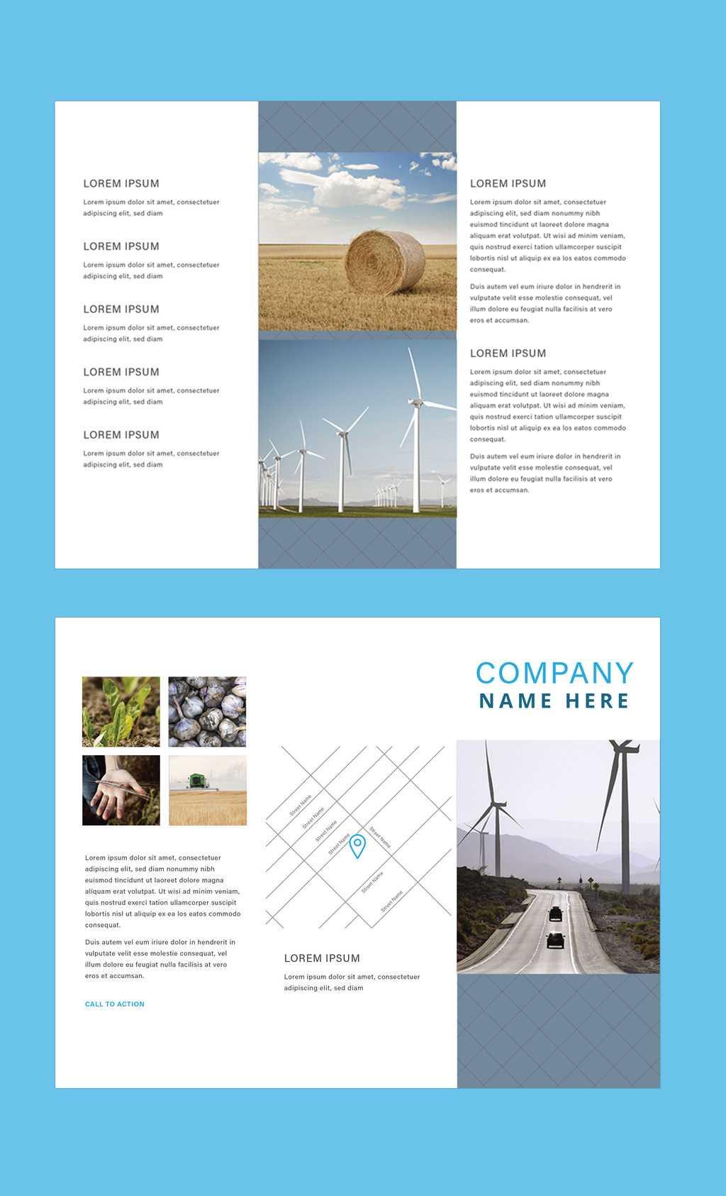 Professional Brochure Templates | Adobe Blog Regarding Brochure Templates Adobe Illustrator