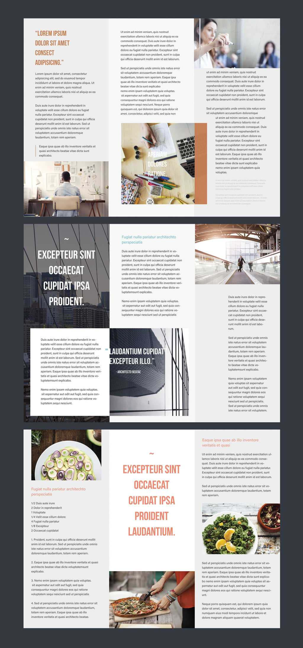 Professional Brochure Templates | Adobe Blog Within Adobe Tri Fold Brochure Template