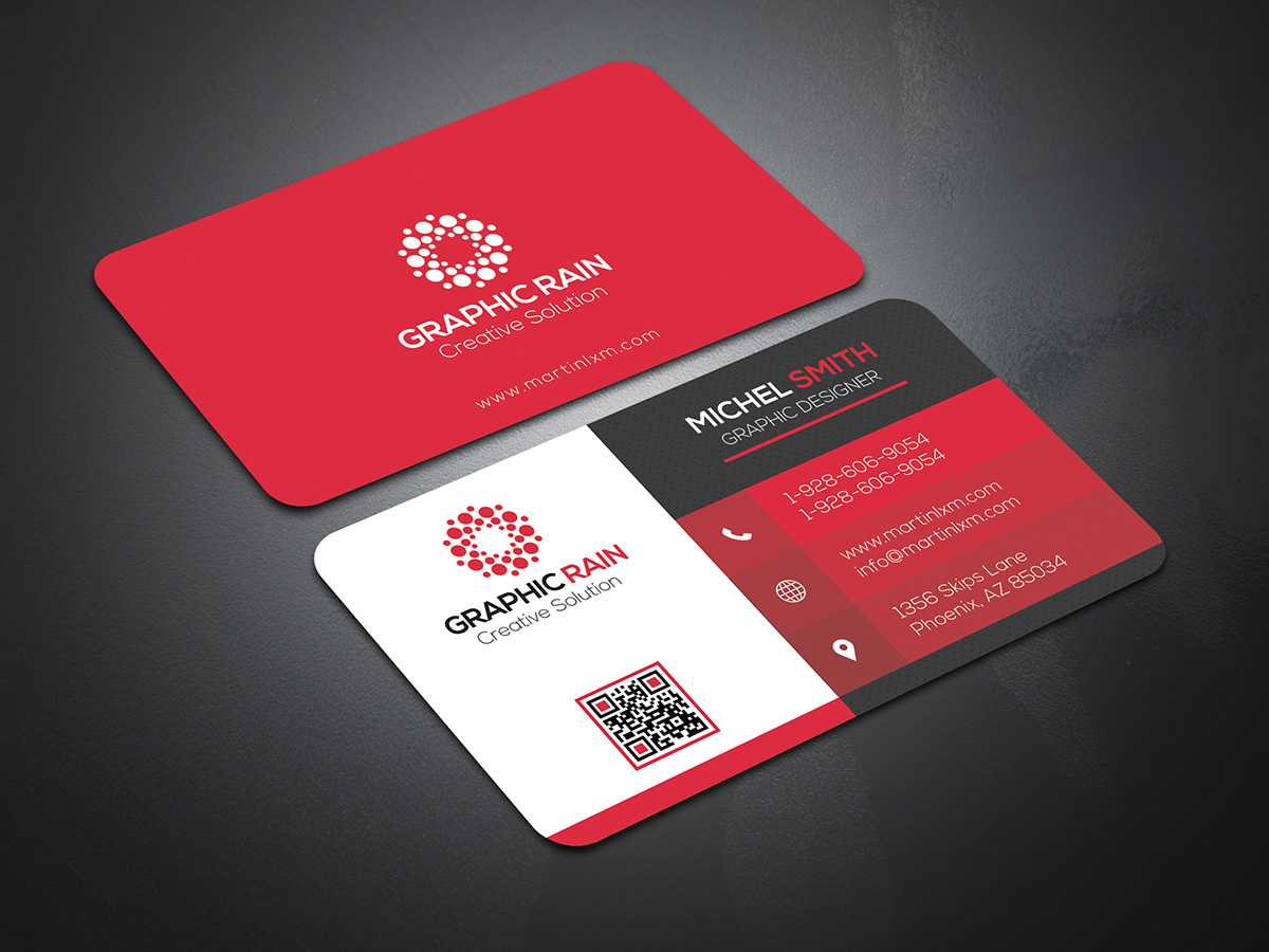 Psd Business Card Template On Behance Intended For Psd Visiting Card Templates