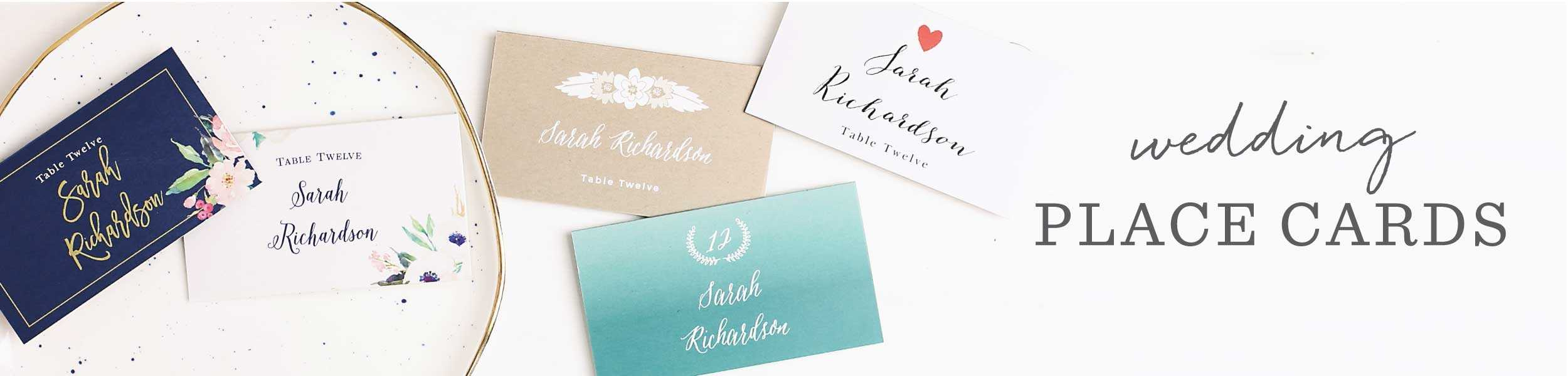 Redwood Forest Place Cards Classy Free Wedding Table Name With Table Name Cards Template Free