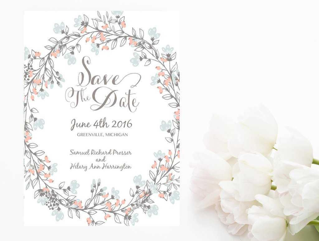 Remarkable Save The Date Template Word Ideas Invitation Regarding Save The Date Powerpoint Template