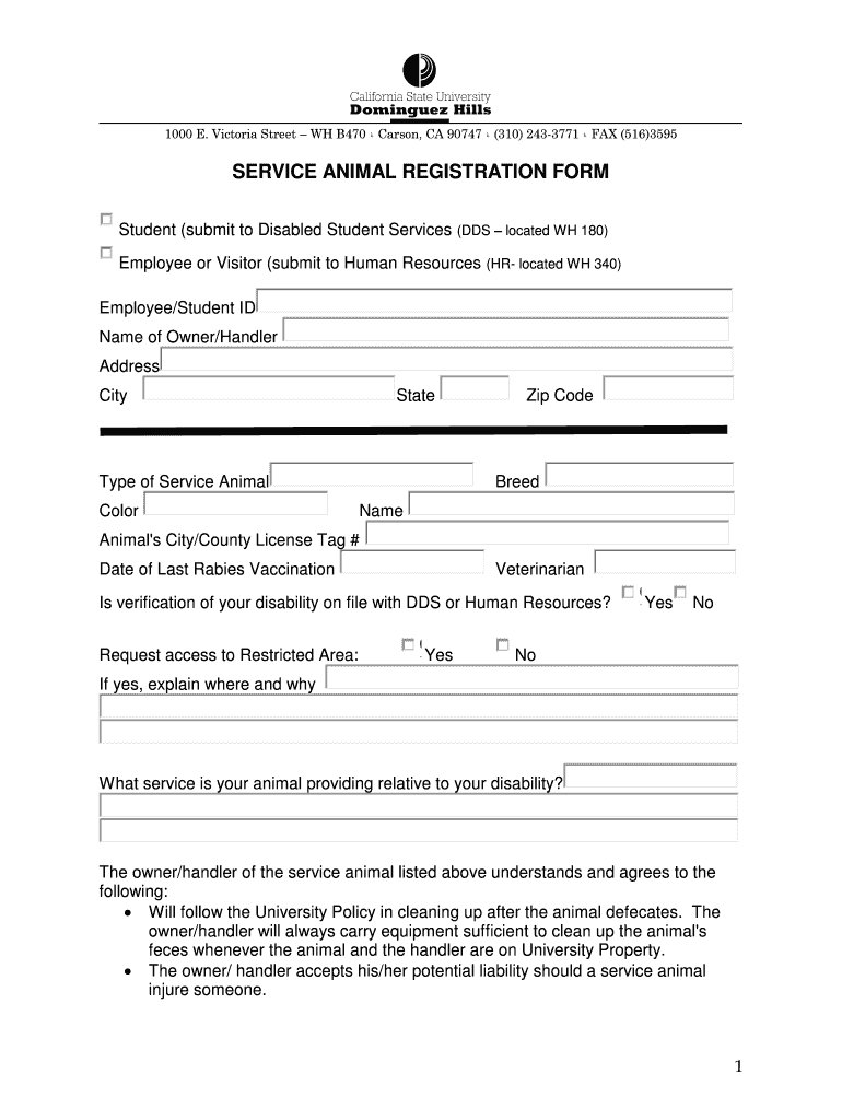 Service Dog Certification No Download Needed – Fill Online With Service Dog Certificate Template