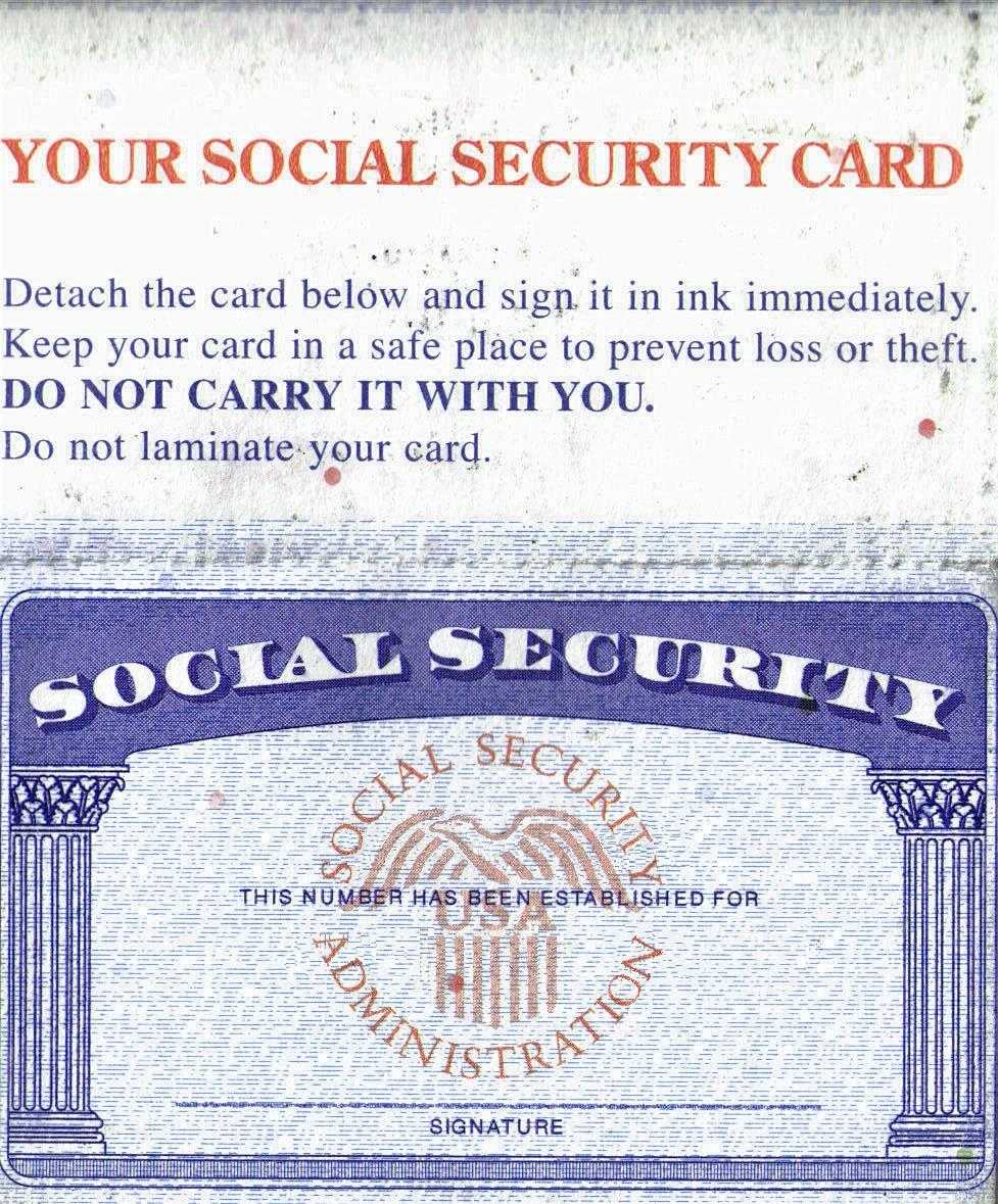 Social Security Card Template - Leaks - Nulled with regard ...