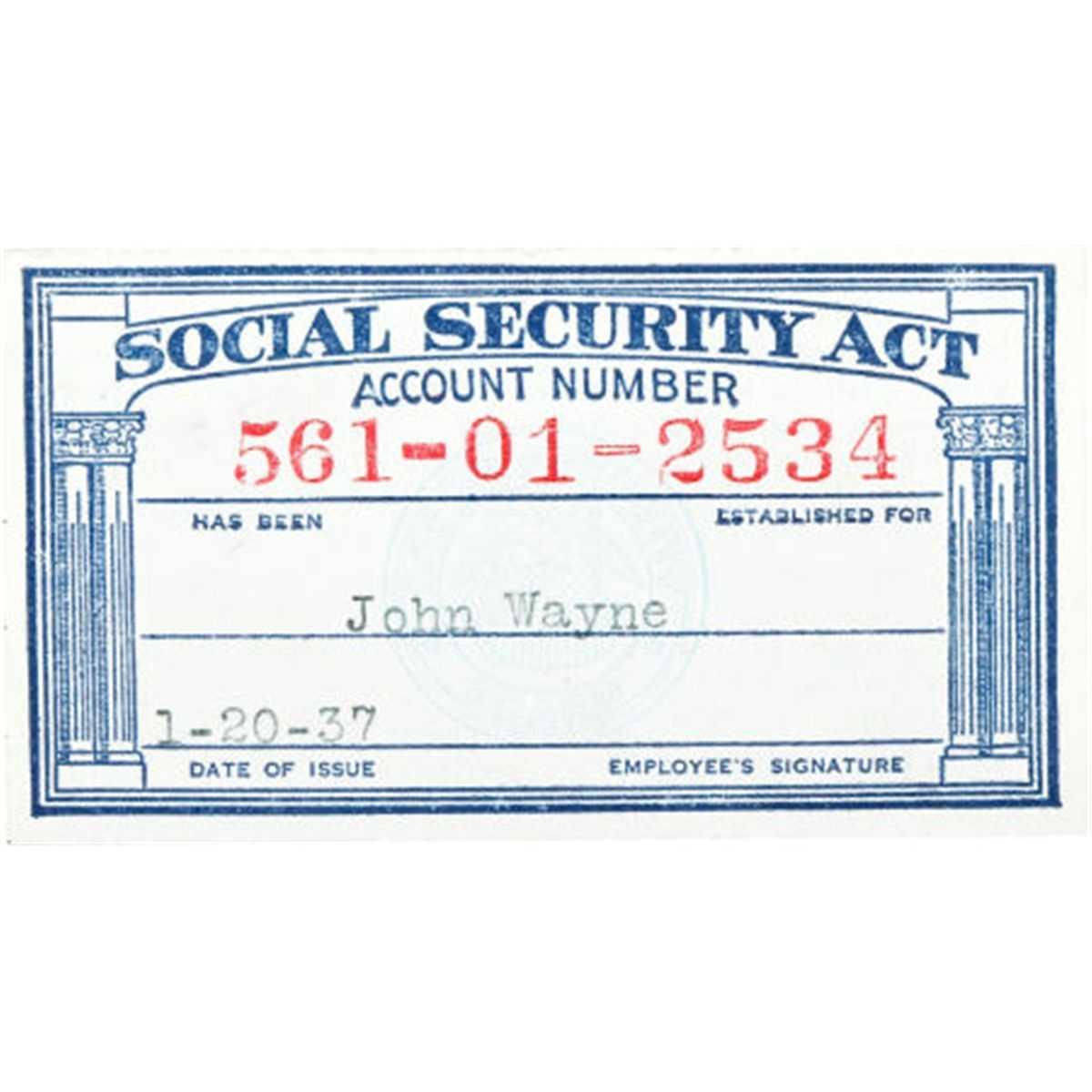 Social Security Card Template Pdf ] - Galleryhip Com Social Inside Editable Social Security Card Template