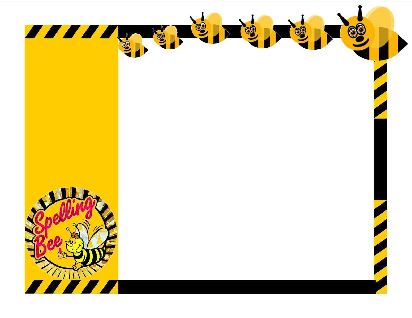 Spelling Bee Winner Clipart Throughout Spelling Bee Award Certificate Template