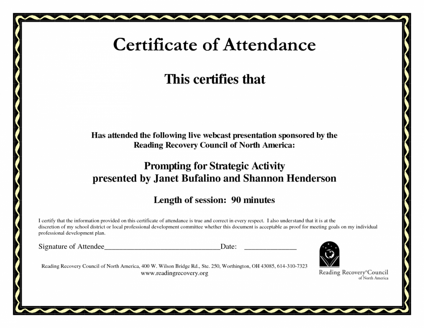 Stupendous Perfect Attendance Certificate Printable | Dora's Within Perfect Attendance Certificate Template