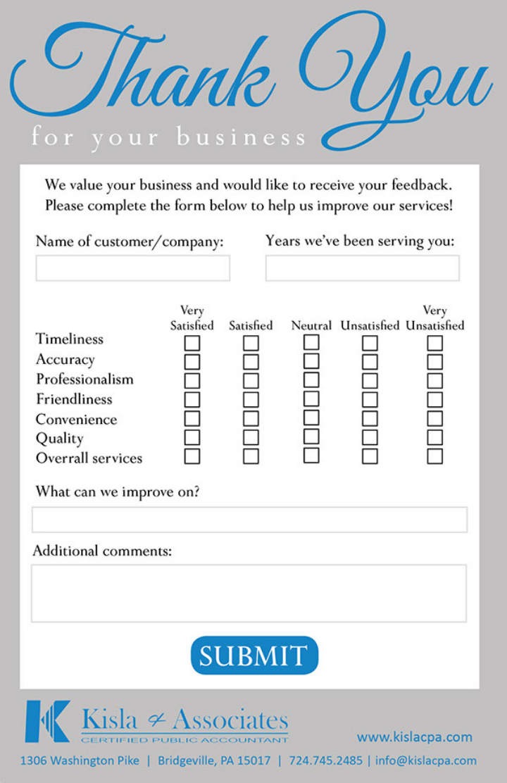 Suggestion Card Template - Colona.rsd7 Throughout Restaurant Comment Card Template