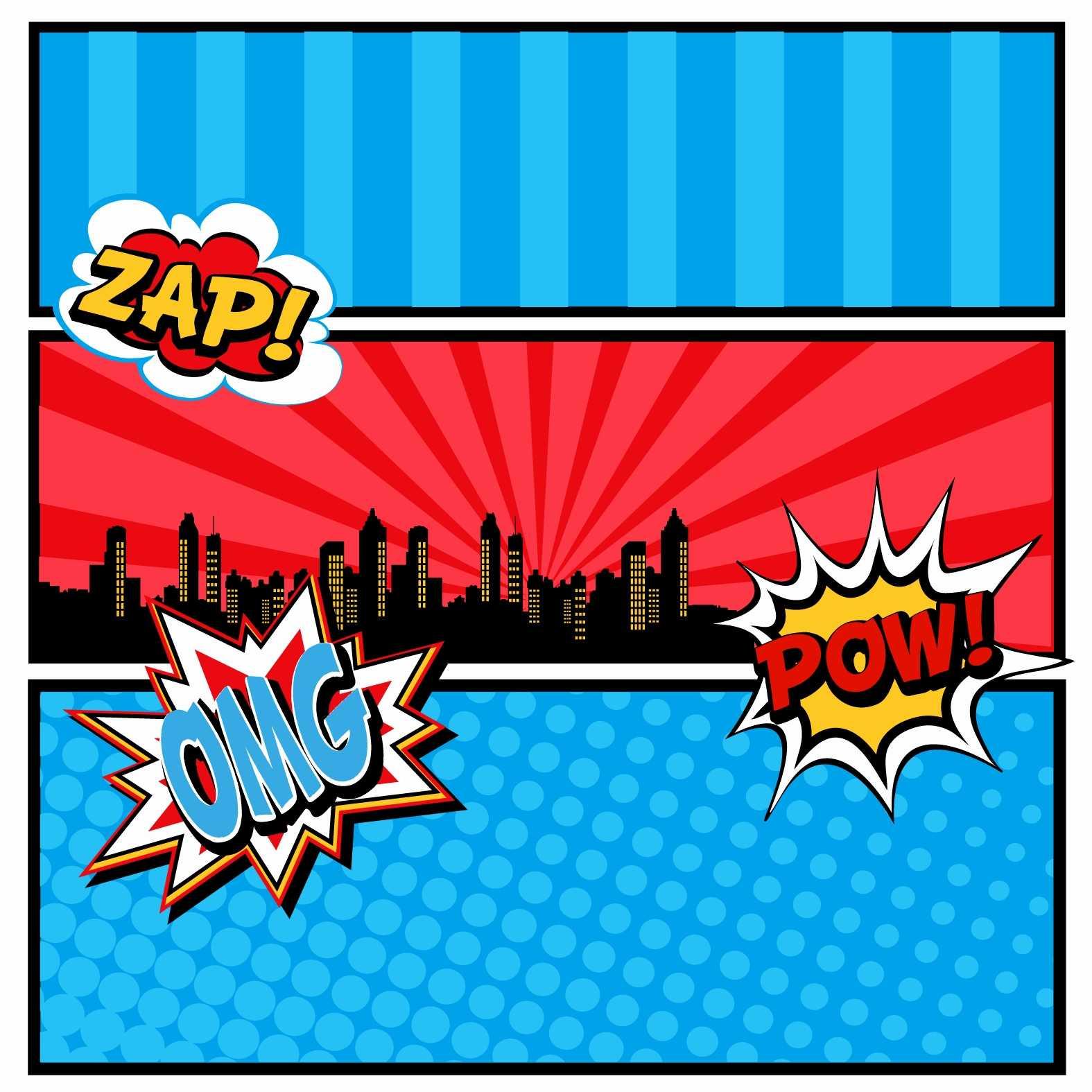 Superhero Birthday Card Template Luxury Calling All In Superhero Birthday Card Template