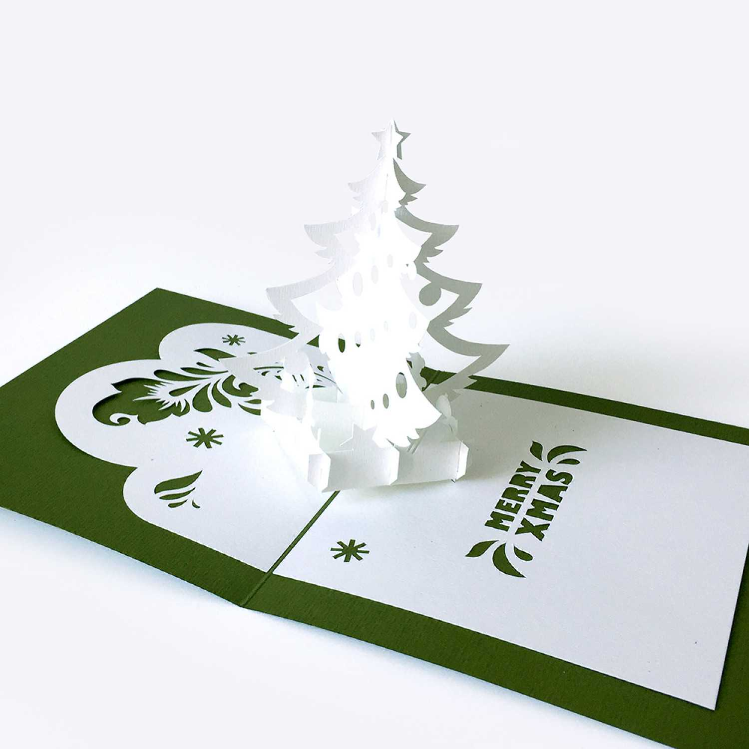Template Pop Up Card «Christmas Tree» Intended For Pop Up Tree Card Template