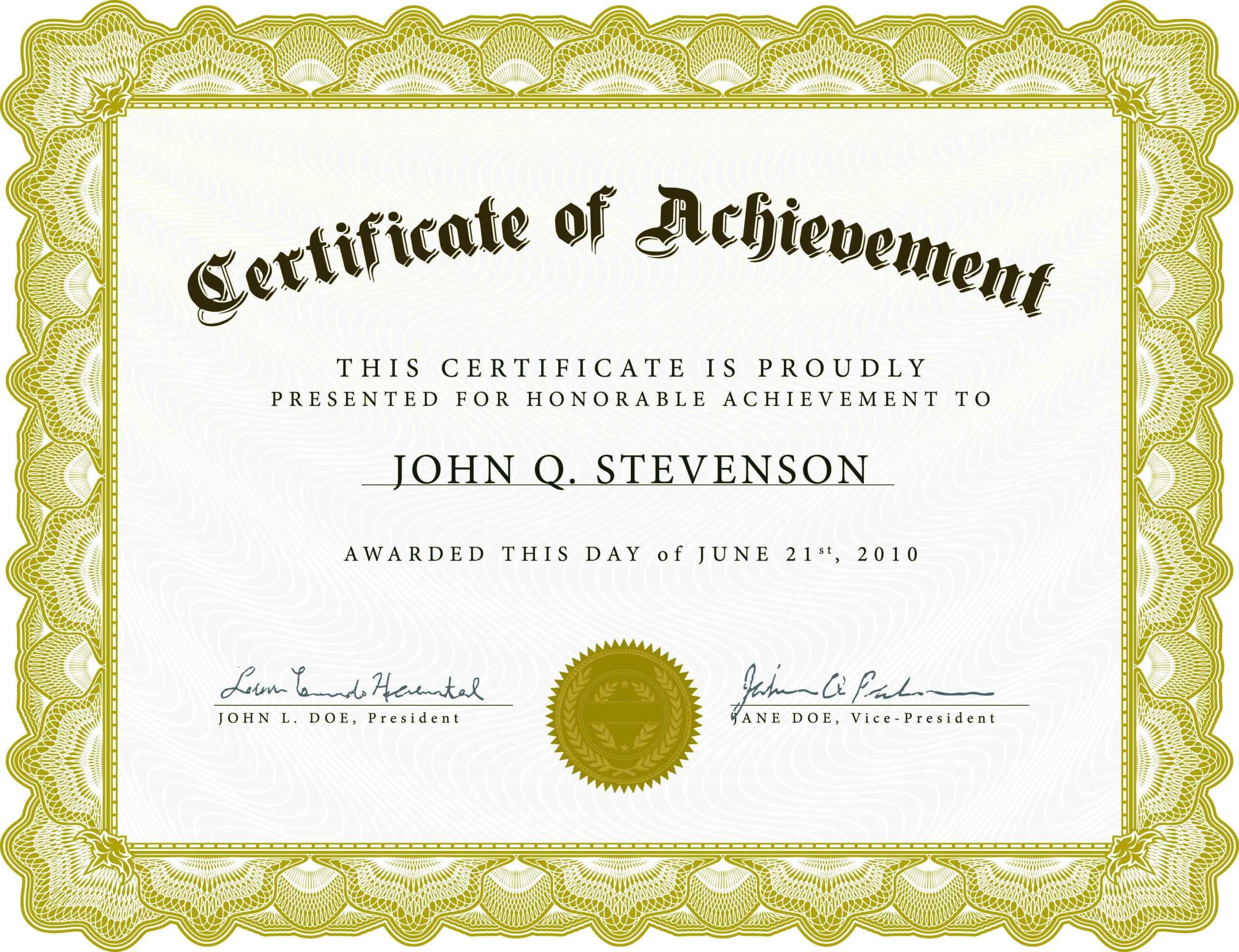 Templates Of Certificates Of Appreciation Regarding Farewell Certificate Template