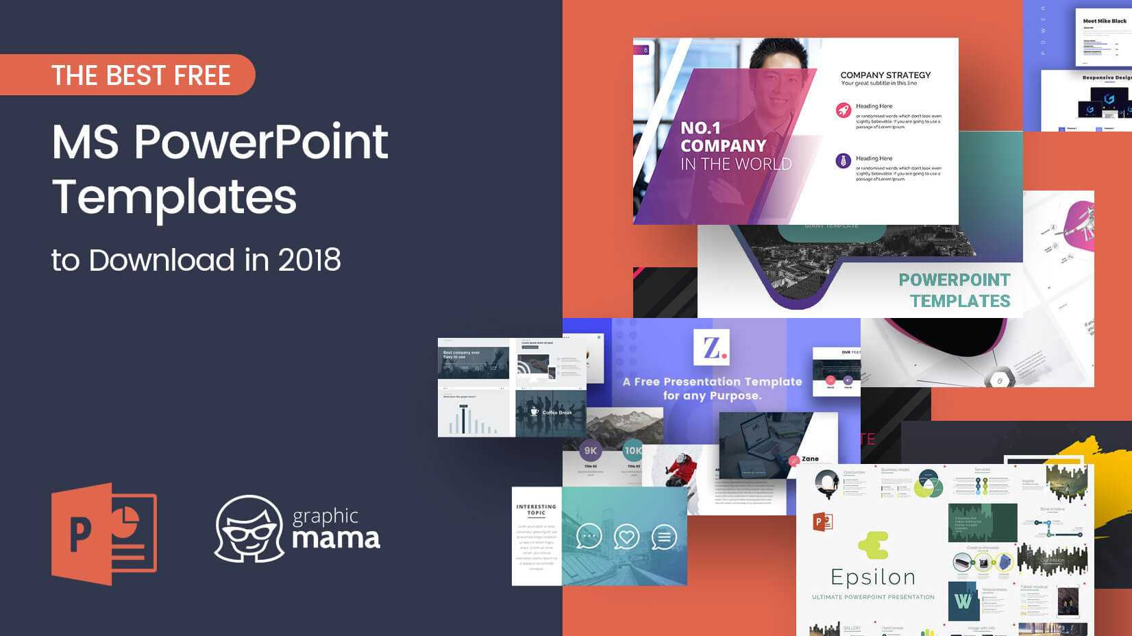 The Best Free Powerpoint Templates To Download In 2018 With Regard To Powerpoint Sample Templates Free Download