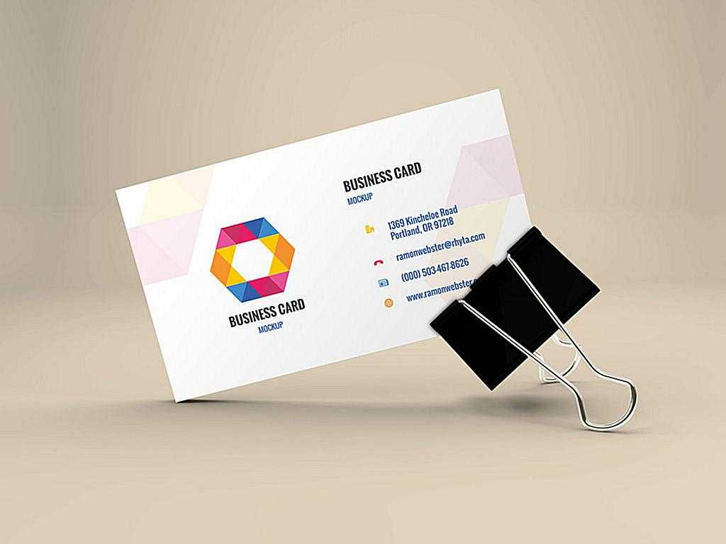 Top 26 Free Business Card Psd Mockup Templates In 2019 In Visiting Card Illustrator Templates Download