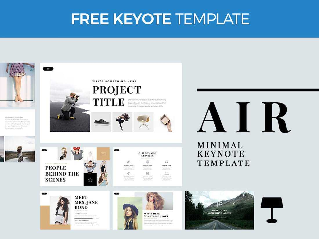 Top 37 Free Templates For Apple Keynote 2019 - Colorlib With Keynote Brochure Template