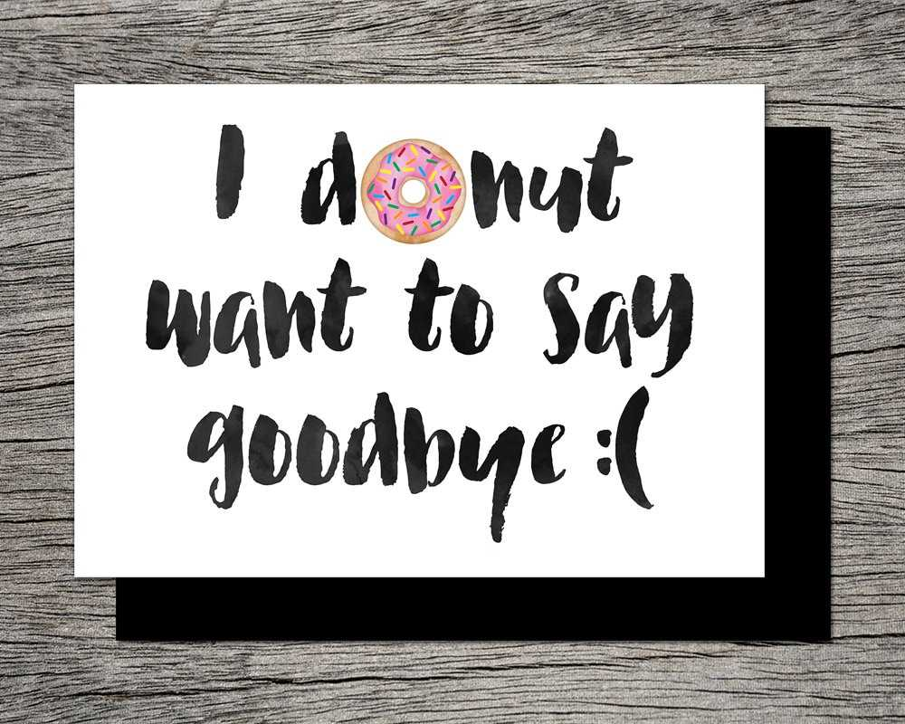 Top Printable Good Bye Cards | Graham Website For Goodbye Card Template