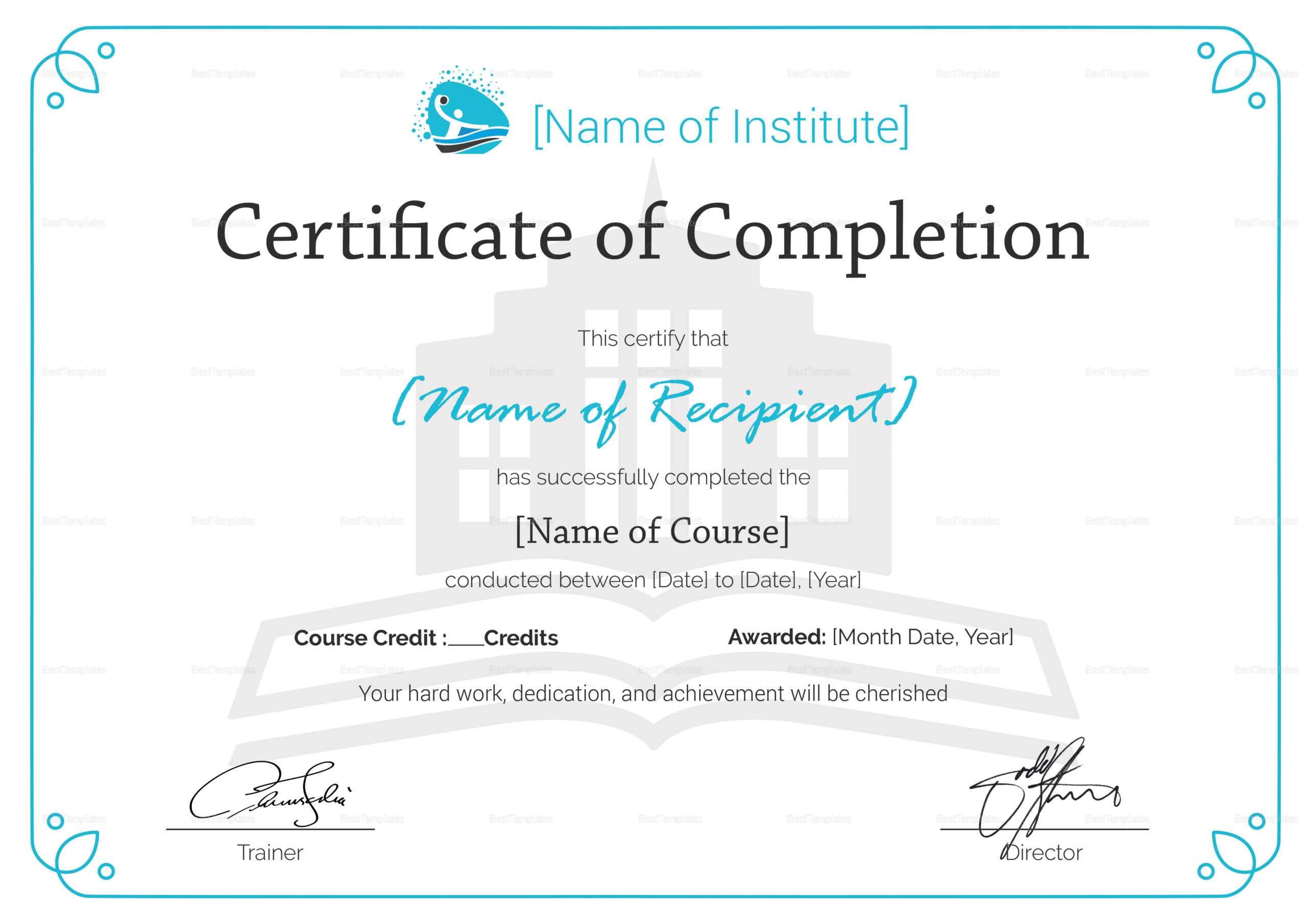 Training Completion Certificate Sample – Tunu.redmini.co Pertaining To Certificate Of Completion Template Word