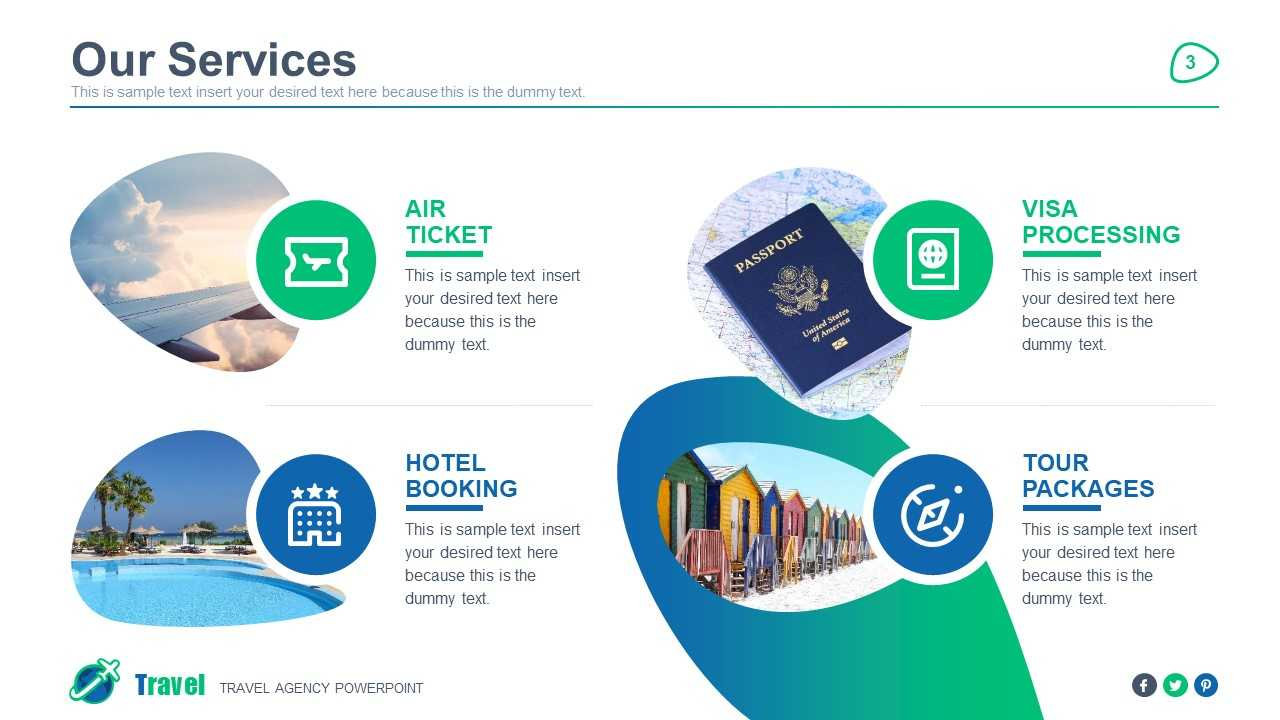 Travel Agency Powerpoint Template With Regard To Powerpoint Templates Tourism