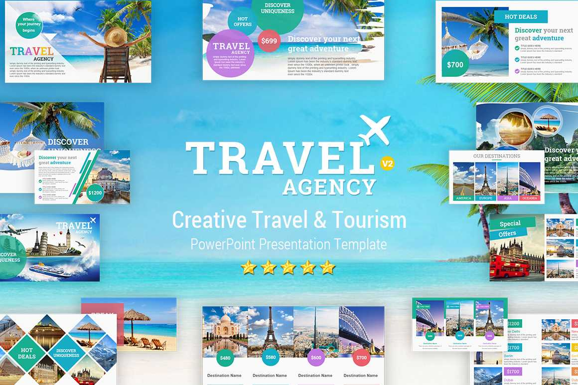 Travel And Tourism Powerpoint Presentation Template - Yekpix With Regard To Tourism Powerpoint Template